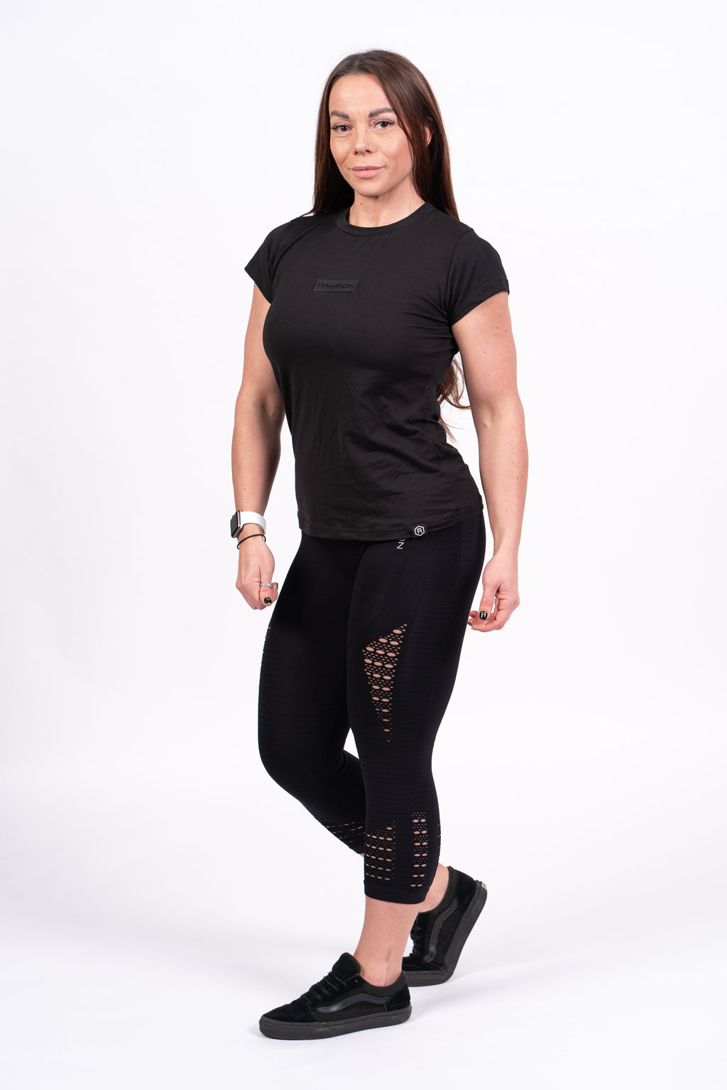 Womens Blackout Tee - Black