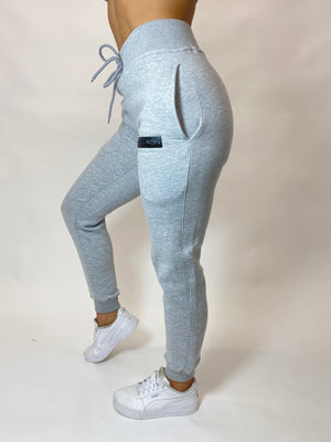 Womens Classic Grey Jogging Bottoms