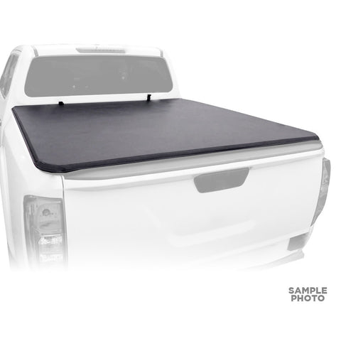 For 2006-2015 Toyota Hilux Vigo Double Cab Soft Roll Up Truck Bed Cover 5'