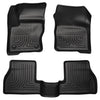 For 2016-2018 Chevrolet Trailblazer Husky Liner Floor Mats (Black) Right Hand Drive 93111