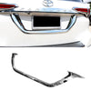 For 16-17 Toyota Fortuner Chrome License Plate Trim