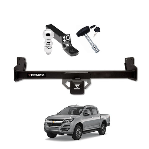 Towing Kit (Hitch Receiver + Ball Mount + Pin Lock) for 13-20 Chevy Colorado