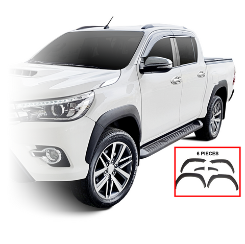 For 16-17 Toyota Hilux Revo Fender Flares