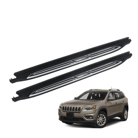 Running Boards (Nerf Bars) for 2014-2021 Jeep Cherokee Side Steps