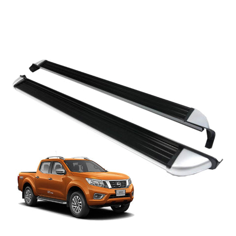 Running Boards Factory Style (Nerf Bars) for 2016-2021 Nissan NP-300 (Export Model)