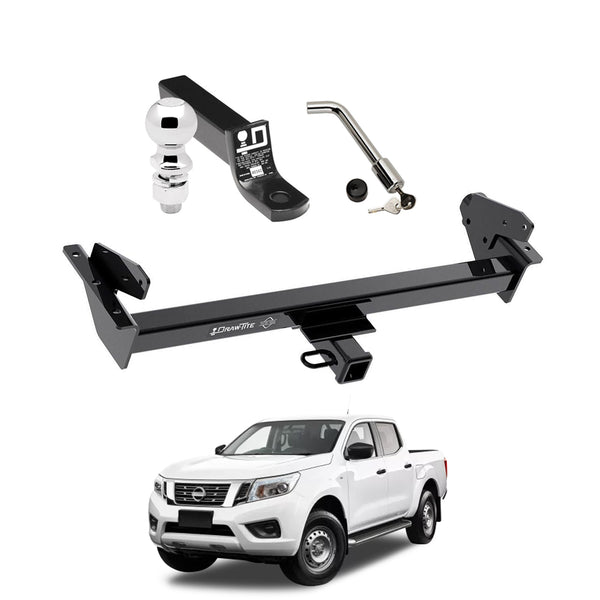 Draw Tite Towing Kit (Frame Receiver + Ball Mount + Pin Lock) for 2016-2019 Nissan NP300