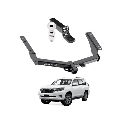 Draw Tite Towing Kit (Frame Receiver + Ball Mount) for 2014-2019 Toyota Prado
