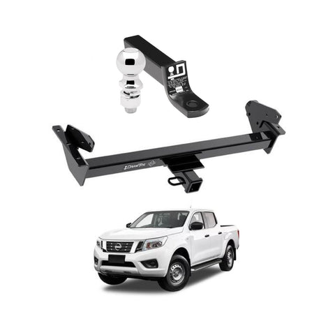 Draw Tite Towing Kit (Frame Receiver + Ball Mount) for 2016-2021 Nissan NP300