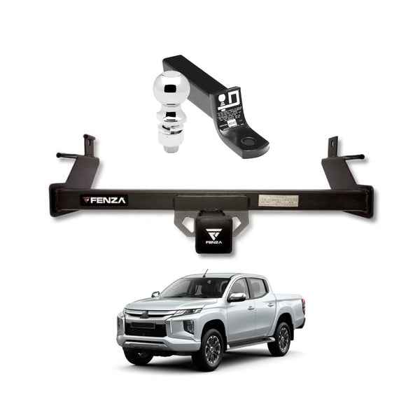 Towing Kit (Frame Receiver + Ball Mount) for 2016-2020 Mitsubishi L200 Triton