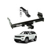 Draw Tite Towing Kit (Frame Receiver + Ball Mount) for 2015-2019 Jeep Grand Cherokee