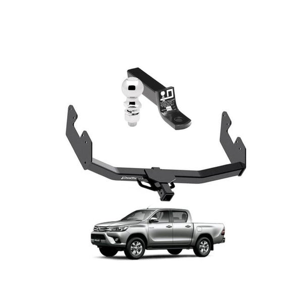 Draw Tite Towing Kit (Frame Receiver + Ball Mount) for 2016-2019 Toyota Hilux