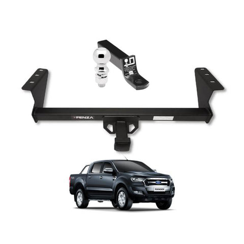 Fenza Towing Kit (Frame Receiver + Ball Mount) for 2016-2019 Ford Ranger