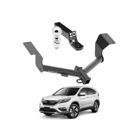 Draw Tite Towing Kit (Frame Receiver + Ball Mount) for 2017-2019 Honda CR V