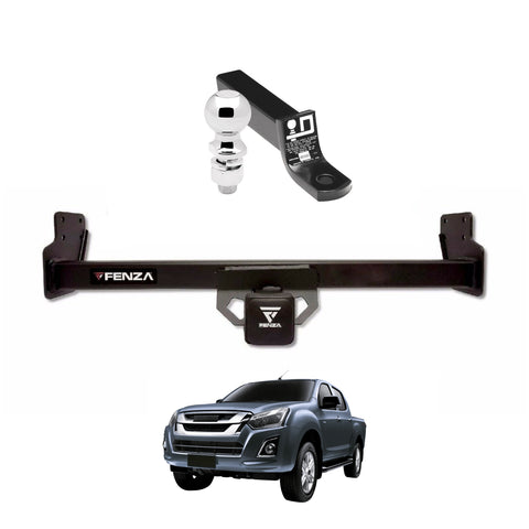 Fenza Towing Kit (Frame Receiver + Ball Mount) for 2013-2019 Isuzu D-Max