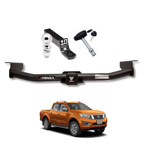 Towing Kit (Frame Receiver + Ball Mount + Pin Lock) for 2016-2020 Nissan NP300 Frontier/Navara
