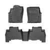 WeatherTech Floor Liners (Black) for 2014-2019 Toyota Prado