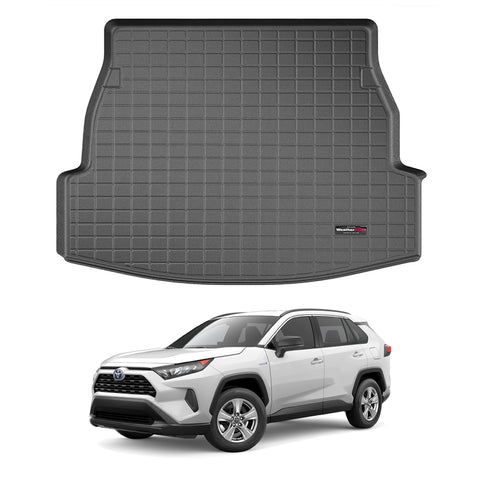 WeatherTech Cargo Liner (Black) for 2019-2021 Toyota RAV4