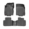 For 2014-2018 Nissan Rogue (X-Trail) WeatherTech Floor Liners (Black)
