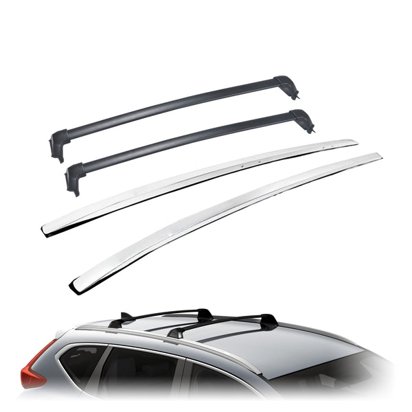 Roof Rack Kit (Rails + Cross Bar) for 2017-2019 Honda CR-V
