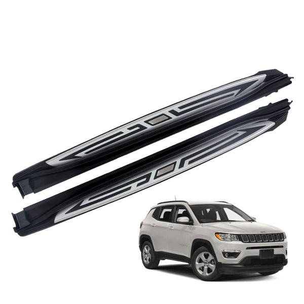 Running Boards (Side Steps) for 2017-2021 Jeep Compass