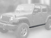 Running Board for 2007-2018 Jeep Wrangler JK (2 Doors)