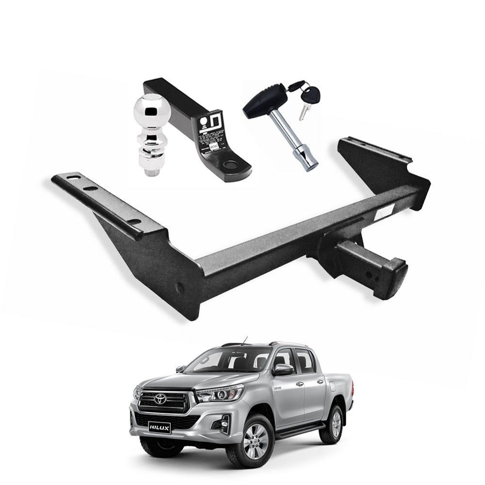Towing Hitch Receiver Trailer Hauling Class 3 for 2016-2020 Toyota Hilux