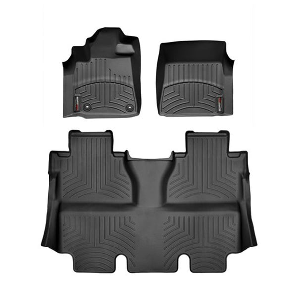 For 2015-2018 Toyota Tundra CrewMax WeatherTech Floor Liners (Black)