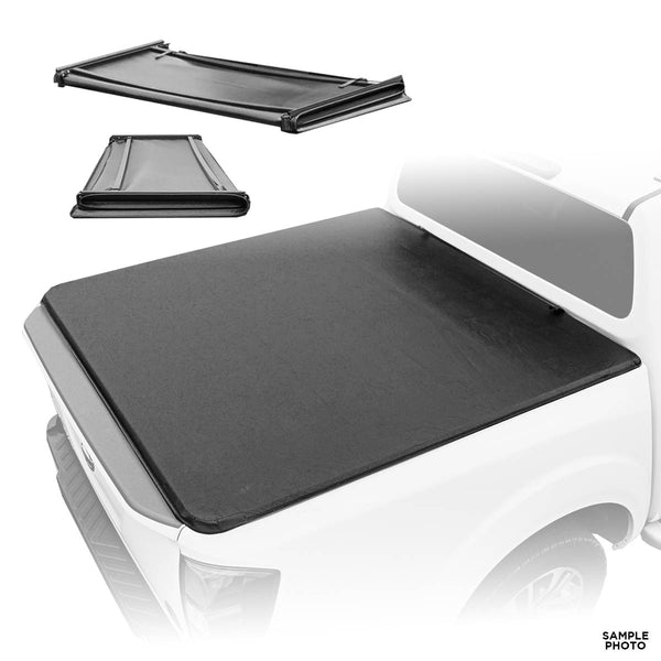 Soft Tri-Fold Tonneau Cover for 2016-2020 Toyota Hilux (Double Cab)