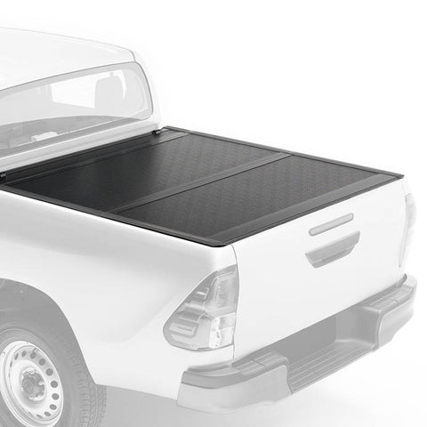 For 2016-2018 Toyota Hilux Revo Tonneau Cover Hard Bi-Fold