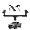 Towing Kit (Hitch Receiver + Ball Mount + Pin Lock) for 2014-2020 Mazda BT50