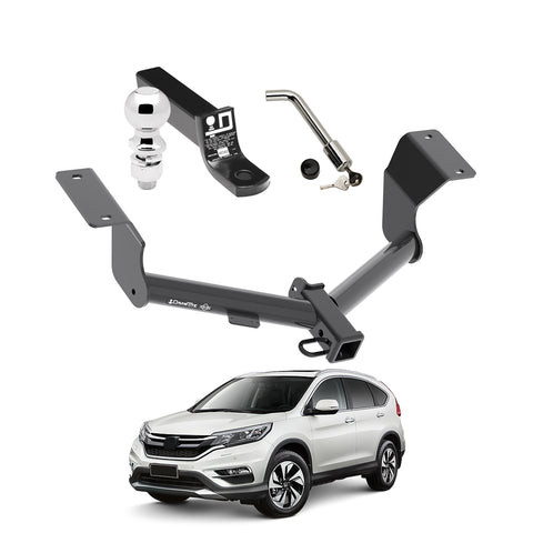 Draw Tite Towing Kit (Frame Receiver + Ball Mount + Pin Lock) for 2017-2019 Honda CR V