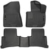 Husky Liner Floor Mats (Black) Right Hand Drive 93111 for 2013-2020 Izusu MUX
