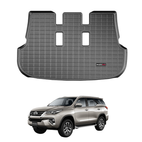 WeatherTech Cargo Liner (Black) for For 2016-2021 Toyota Fortuner
