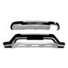 For 2013-2016 Hyundai Santa Fe Sport Front and Rear Bumpers Guard