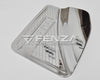 For 2016+ Nissan Frontier NP300 Chrome Fuel Cap Tank Door Cover Trim