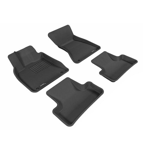 Floor Mats Set (Black) for 2008-2013 Toyota Highlander