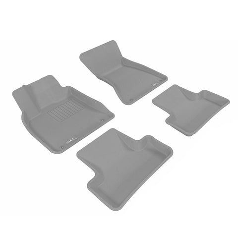 Floor Mats Set (Gray) for 2008-2013 Toyota Highlander