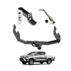 Towing Kit (Frame Receiver + Ball Mount + Pin Lock) for 2016-2019 Toyota Hilux