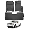 Husky Liners Weatherbeater™ Floor Mats for 09-14 Ford F-150 (4-door) King Ranch/Lariat/FX2/FX4/Limited