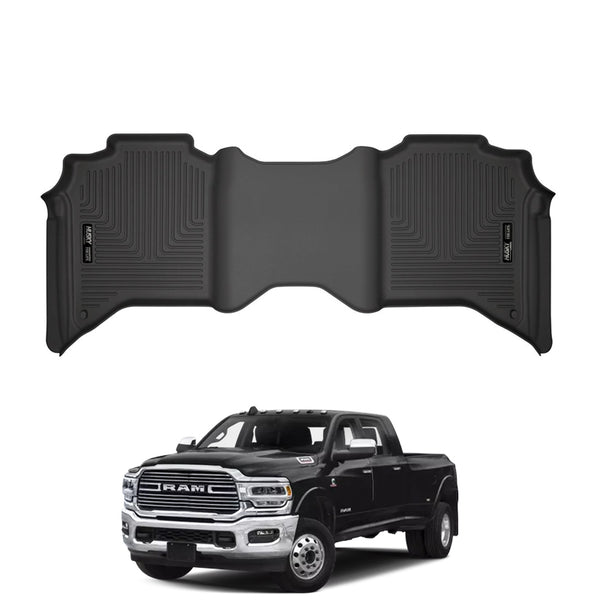 Husky Liners Weatherbeater™ Floor Mats for 2019-20 Dodge RAM 3500 Crew Cab (2nd Seat)