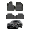 WeatherTech Floor Liners (Black) for 2019-2020 Hyundai Santa Fe