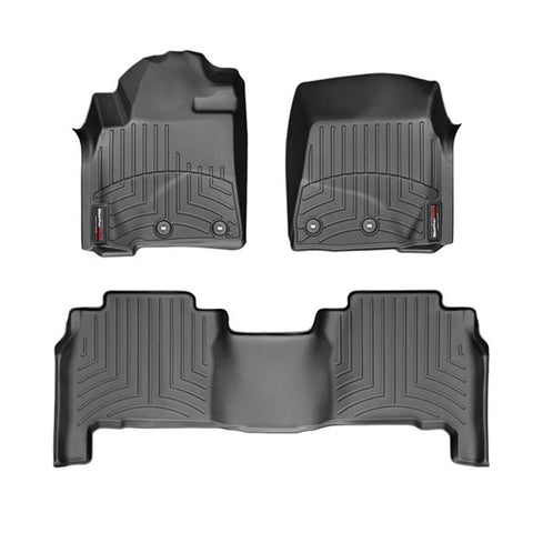 For 13-16 Toyota Land Cruiser WeatherTech Floor Liners (Black)