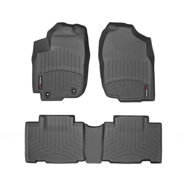 For 2013-2018 Toyota RAV4 WeatherTech Floor Liners (Black) 445101