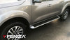 Running Boards Factory Style (Nerf Bars) for 2016-2020 Nissan NP 300