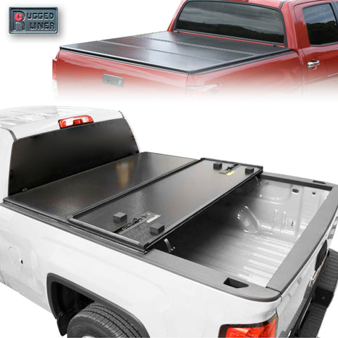 Rugged Cover Hard Tri Fold Tonneau Cover 5' for 16-19 Toyota Hilux