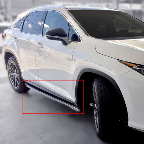 For 2016-2018 Lexus RX Running Boards with LED Lights (Side Step Bars)