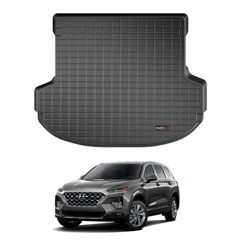 WeatherTech Cargo Liner (Black) for 2019-2021 Hyundai Santa Fe