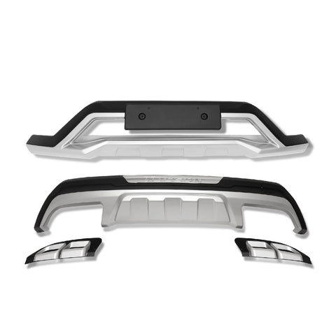 For 2016-2018 Hyundai All New Tucson Front and Rear Bumper Guard