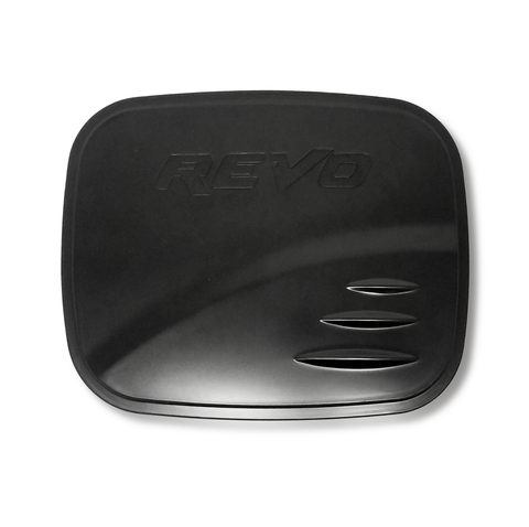For 16-17 Toyota Hilux Revo Black Fuel Cap Tank Door Cover Trim