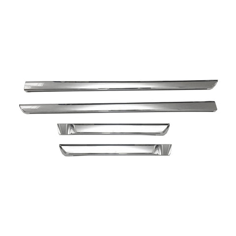 For 16-17 Toyota Land Cruiser Side Molding Trims (Set of 4 Pieces)